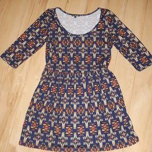 Womens BeBop Mini Boho Dress